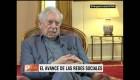 Vargas Llosa, preocupado por las redes sociales