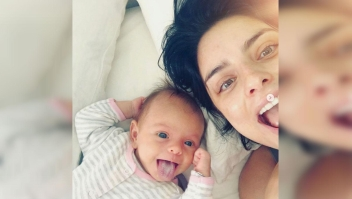 Aislinn Derbez comparte su vida como mamá
