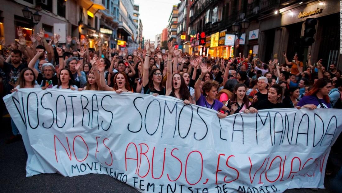 """Protestas contra sentencia a """"La Manada"""""""