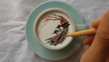 #LaImagenDelDía: arte de Van Gogh en un café
