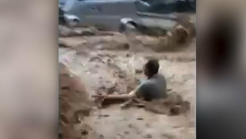 Lluvias torrenciales causan inundaciones en Damasco
