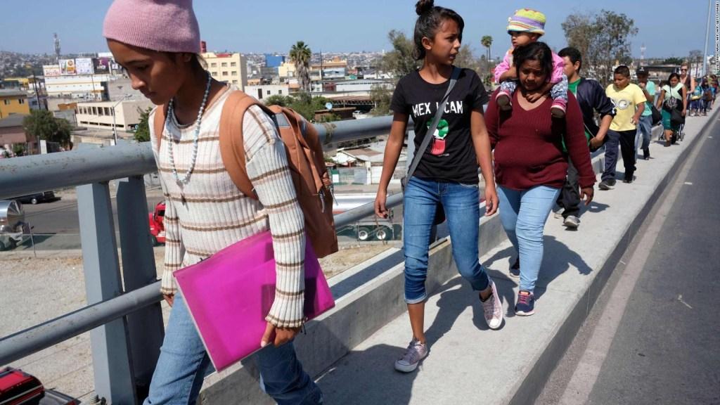 Caravana Vía Crucis llegó a Tijuana, la mitad pediría asilo a EE.UU.