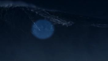 Así es la ola más alta jamás surfeada