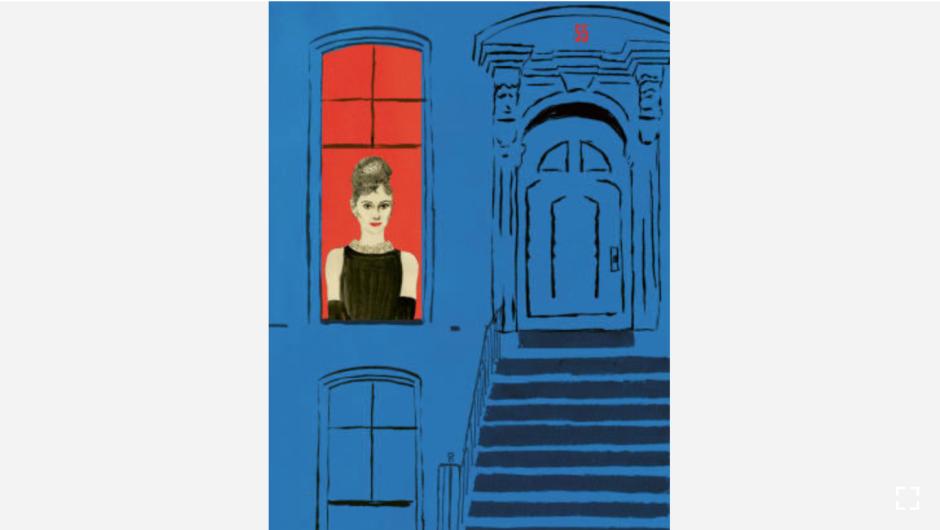 """La actriz e icono de moda Audrey Hepburn tenía una obsesión con el número 55, y a menudo pedía ese número en su camerino. (Crédito: """"Recipes for Good Luck"""", por Ellen Weinstein, publicado por Chronicle Books 2018)."""