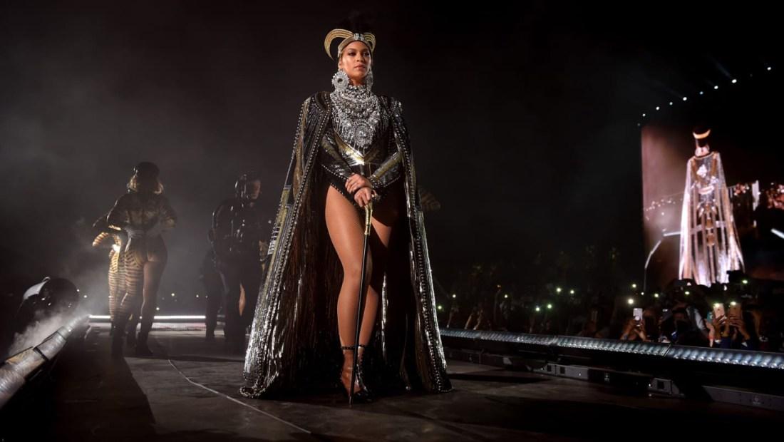 Beyoncé, durante un concierto en Coachella.