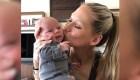 Anna Kournikova y su bebé derriten las redes
