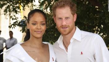 príncipe Enrique de Inglaterra y Rihanna