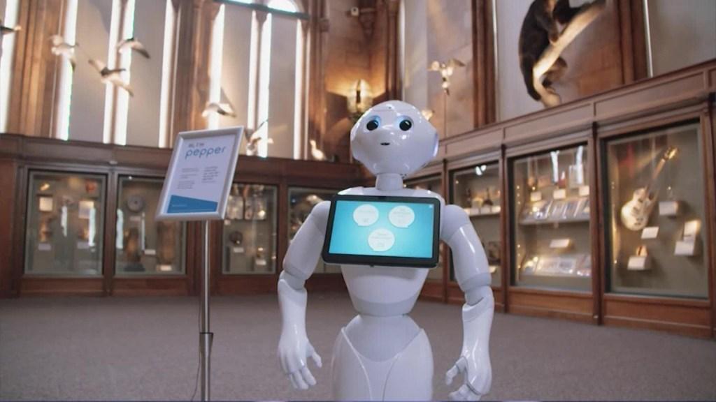 En estos museos los guías son robots