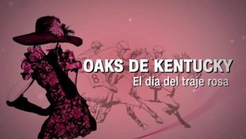 Realizan concurso de moda en el Derby de Kentucky