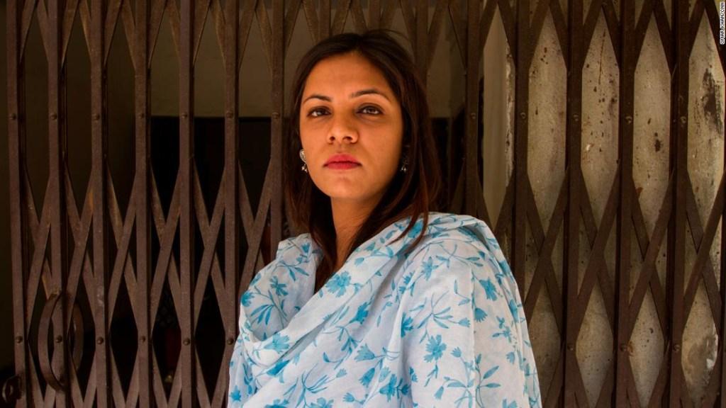 Mujer India. Akriti Kholi, 29, profesora en la Universidad de Delhi.