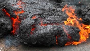 La lava devora un vecindario de Hawai