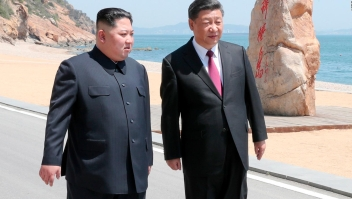 Así fue la segunda reunión entre Xi Jinping y Kim Jong Un