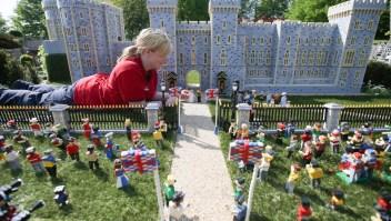 #LaImagenDelDía: réplica de la boda real en el Castillo de Windsor