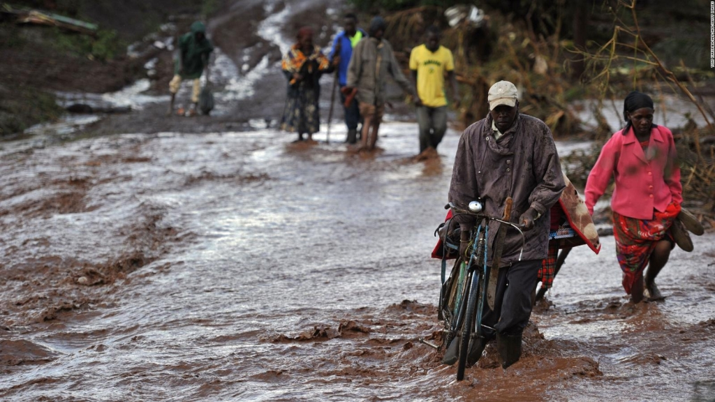 44 muertos por rotura de una represa en Kenya