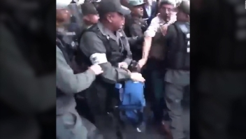 Diputados venezolanos denuncian agresiones de la Guardia Nacional