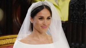 La tiara de Meghan, también protagonista de la boda