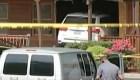 Un hombre chocó un auto contra su familia en un restaurante