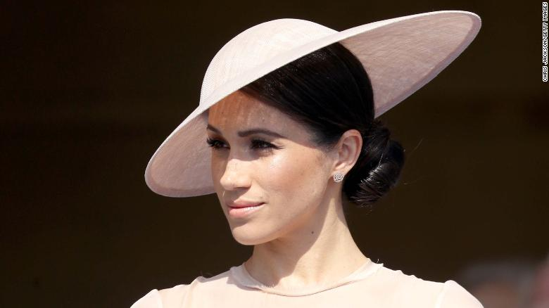 Meghan, duquesa de Sussex, asiste a la celebración del septuagésimo cumpleaños del príncipe de Gales el martes. (Crédito: Chris Jackson/Chris Jackson/Getty Images)