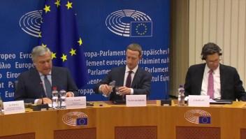Mark Zuckerberg se disculpa ante Parlamento Europeo