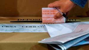 El proceso de paz, clave en las elecciones presidenciales en Colombia