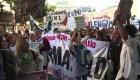 Maestros marchan por reivindicaciones salariales en Argentina