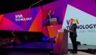 Macron expone su sueño en una conferencia tecnológica en París