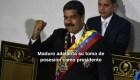 #MinutoCNN: Maduro adelanta su toma de posesión