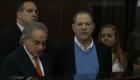 Presentan a Harvey Weinstein en una corte de Nueva York