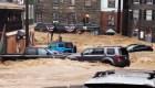 Tormenta masiva inunda a Baltimore