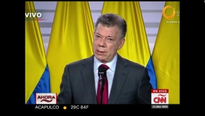 Santos: EE.UU. respalda y respeta el acuerdo de paz con las FARC