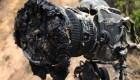 #ElDatoDeHoy: una cámara derretida por el calor de un cohete