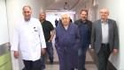 Mahmoud Abbas es dado de alta tras 8 días hospitalizado