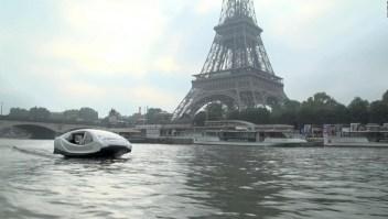 Minuto Clix: te mostramos el Sea Bubbles, ¿el taxi del futuro?