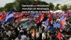#MinutoCNN: Marchas en Nicaragua para el día de la madre