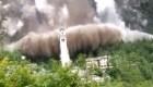 Iglesia italiana se salva de un desprendimiento masivo de rocas