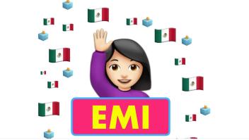 EMI, robot de la UNAM para las elecciones en México. Crédito: UNAM Mobile/Facebook