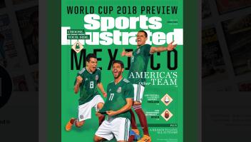 Portada de la revista Sport Illustrated con la Selección Nacional de Fútbol de México