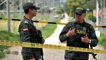 Dos policías de Colombia en una imagen de archivo. (Crédito: GUILLERMO LEGARIA/AFP/Getty Images)