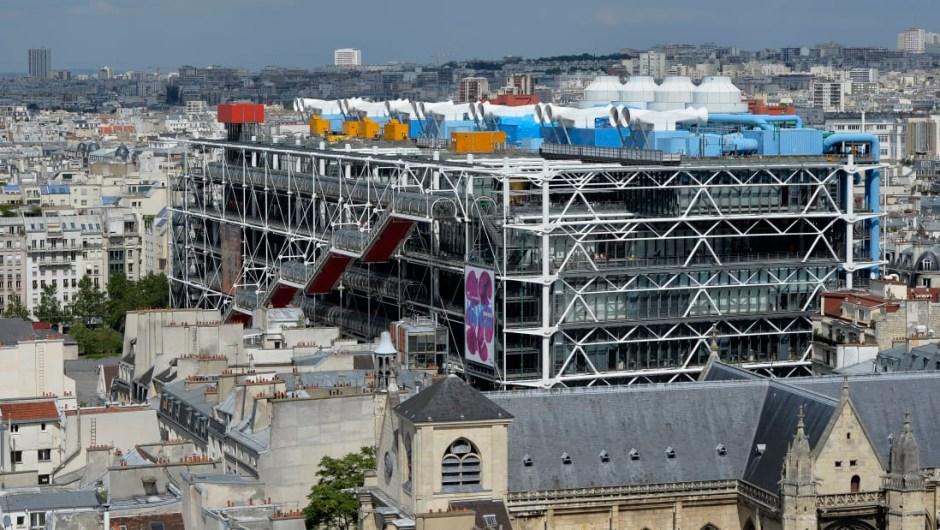 20. Centre Pompidou, París: La deslumbrante arquitectura del Centre Pompidou es obra de Renzo Piano y Richard Rogers. El museo es el número 20 entre los museos más populares del mundo, según el índice Museum publicado por Themed Entertainment Association y AECOM.