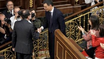 El socialista Pedro Sánchez es el nuevo presidente del Gobierno español