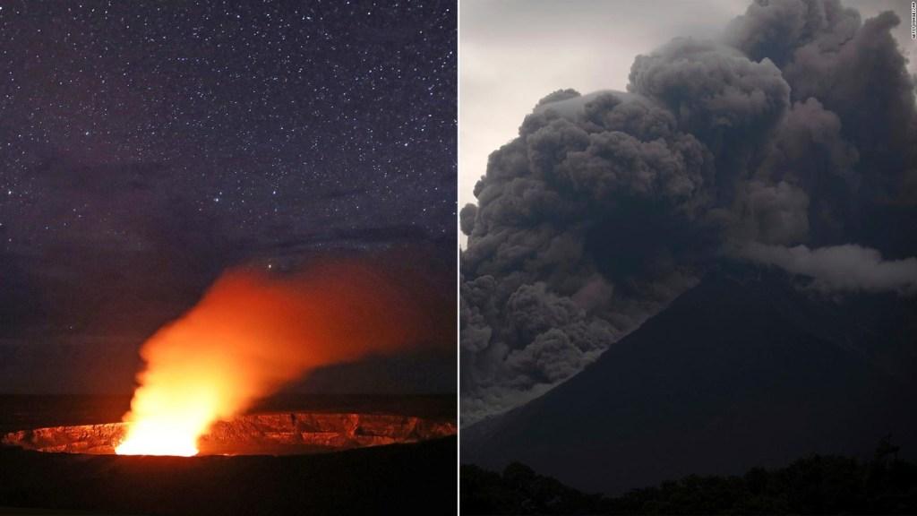 Actividad volcánica en Hawái y Guatemala no es aislada