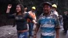 La dramática evacuación de los habitantes del Volcán de Fuego