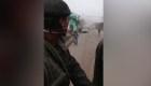 Evacuan a periodistas por nuevo flujo de lava en volcán de Guatemala