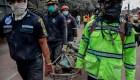Autoridades intentan identificar a víctimas de erupción