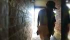 Mira cómo este repartidor de Amazon esconde los paquetes de una mujer