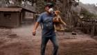 Animales son rescatados de las cenizas del volcán de Fuego