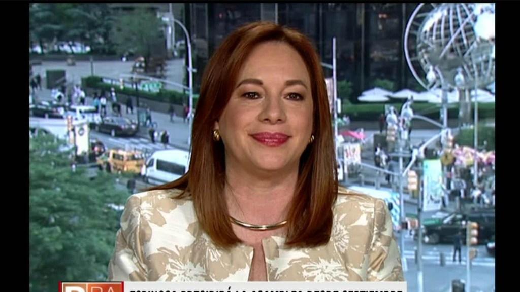 La canciller de Ecuador, nueva presidenta de la Asamblea General de la ONU