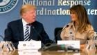 Melania Trump reaparece tras su intervención quirúrgica
