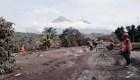 CNN entra a la zona cero de la tragedia en Guatemala