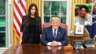 Trump cumple a Kim Kardashian una petición de indulto presidencial